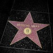 Stock Photo: Groucho Marx star in Hollywood Walk of Fame, Los Angeles, United