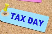Tax day — Stock Photo