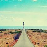 Far de Barbaria in Formentera, Balearic Islands, Spain — Stock Photo