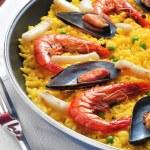 Spanish paella — Stock Photo #23727409