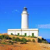 远 de la mola 在福门特拉岛,巴利阿里群岛,西班牙 — 图库照片
