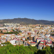 Aerial view of Malaga city, in Spain — Stock Photo #24438683