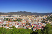 Aerial view of Malaga city, in Spain — Stock Photo