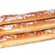 Fartons, typical pastries of Valencia, Spain - Stock Photo