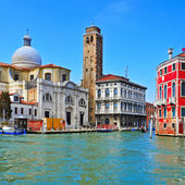 The Grand Canal in Venice, Italy — Foto de Stock