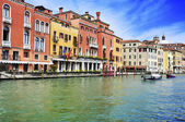 The Grand Canal in Venice, Italy — Stockfoto