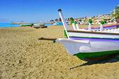 Pedregalejo Beach in Malaga, Spain — Stock Photo