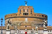 Castel Sant Angelo in Rome, Italy — Stock Photo