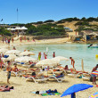 Stock Photo: Ses Illetes Beach in Formentera, Balearic Islands, Spain