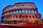 O coliseu de roma, itália — Foto Stock