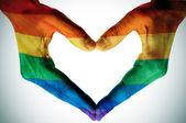 Homosexuální láska — Stock fotografie