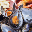 Spansih seafood tapas — Stock Photo