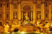 Fontana di Trevi in Rome, Italy — Stock Photo