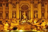 Fontana di Trevi in Rome, Italy — Stock Photo
