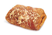 Ham and cheese croissant — Stock Photo
