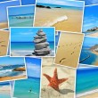 Spanish beaches collage — Stock Photo #26267167