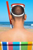 лето на пляже — Стоковое фото
