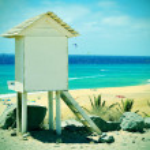 Sotavento Beach in Fuerteventura, Canary Islands, Spain — Stock Photo #26495721