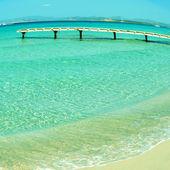 Ses Illetes Beach in Formentera, Balearic Islands, Spain — Stock Photo