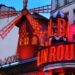 The Moulin Rouge in Paris, France — Stock Photo