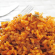 Stock Photo: Picadillo, traditional dish in many latin americcountries, wi
