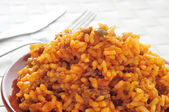Picadillo, traditional dish in many latin american countries, wi — Stock Photo