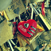 Love in Paris, France — Stock Photo