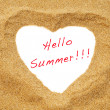 Hello summer — Stock Photo