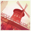 moulin rouge in paris — Stock Photo