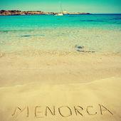 Minorca, isole baleari, spagna — Foto Stock