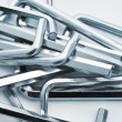 Hex keys — Stock Photo