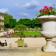 Jardin du Luxembourg in Paris, France — Stock Photo #29465639
