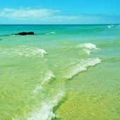 Playa esmeralda en fuerteventura, islas canarias, españa — Foto de Stock