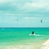 Sotavento Beach in Fuerteventura, Canary Islands, Spain — Foto Stock