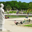 Jardin du Luxembourg in Paris, France — Stock Photo #30232789
