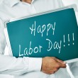 Happy labor day — Stock Photo #30260771