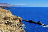Ajuy pobřeží fuerteventura, kanárské ostrovy, španělsko — Stock fotografie