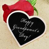 Happy grandparents day — Stock Photo