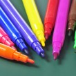 Felt-tip pens of different colors — Stock Photo