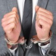 Handcuffed man — Stock Photo #30762037