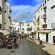 Stock Photo: Dalt Vila, old town of IbizTown, in Balearic Islands, Spai