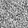 Crushed stone background — Stock Photo
