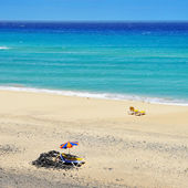 Plage de butihondo à fuerteventura, îles canaries, espagne — Photo