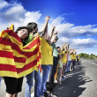 The Catalan Way, in Ametlla de Mar, Catalonia, Spain — Stock Photo