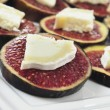 Figs and cheese — Stock Photo