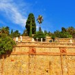 Stock Photo: Montjuic Cemetery in Barcelona, Spain
