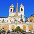 Piazza di Spagna in Rome, Italy — Stock Photo