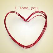 I love you — Stock fotografie