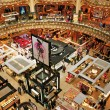 Galeries Lafayette in Paris, France — Stock Photo