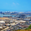 Stock Photo: Port of Barcelona, Spain